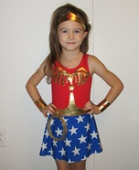 Wonder Girl Homemade Costume