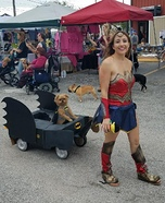 Wonder Woman and Batman Homemade Costume