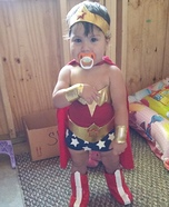 Wonder Woman Baby Homemade Costume
