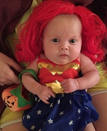 Infant Wonder Woman Baby Costume