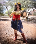 Wonder Woman Fairy Homemade Costume