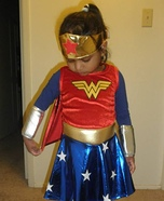 Wonder Woman Girl Costume