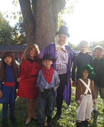 Wonka Family Homemade Costume