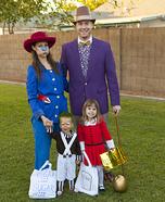 Wonka Family Homemade Costume