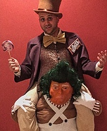 Wonka Trumpa-Loompa Homemade Costume