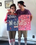 Homemade Wonka's Nerds Costume