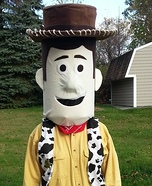 Toy Story Woody Homemade Costume