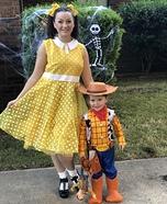 Woody and Gabby Gabby Costume