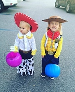 Woody and Jessie Costume