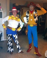 Homemade Woody & Jessie Costumes