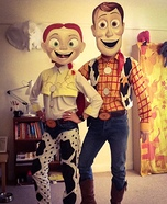 Woody & Jessie Homemade Costume