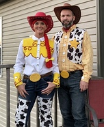 Woody & Jessie Homemade Costume