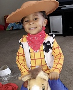 Woody The Cowboy Costume