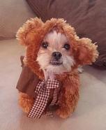 Wookie Dog Homemade Costume