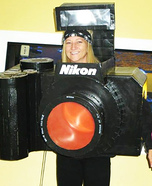 Working Nikon Camera Costume