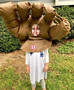 World Series Ball & Glove Homemade Costume