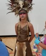 Warrior Princess Homemade Costume