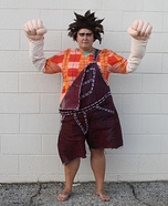 Wreck-It Ralph Homemade Costume