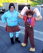 Wreck-It Ralph and Vanellope Homemade Costume