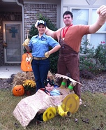 Wreck-It Ralph Characters Homemade Costume