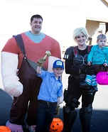 Wreck-It Ralph Family Costumes