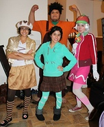 Wreck-It Ralph Gang Homemade Costume