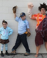 Wreck-It Ralph Movie Characters Homemade Costume