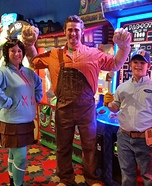 Wreck-It Ralph, Vanellope Von Schweetz and Fix-It Felix Costumes