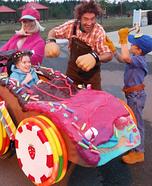 Wreck It Ralph Crew Homemade Costume