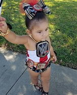 WWE Diva Homemade Costume
