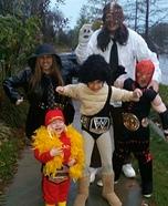WWE Wrestlers Family Homemade Costume