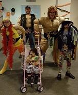 WWE Wrestling Family Homemade Costume
