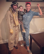 WWII Family Homemade Costume