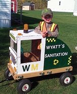 Wyatt's Sanitation Homemade Costume