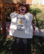 Wyoming Born & Bread Homemade Costume