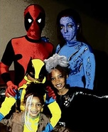 X-Men Family Homemade Costume