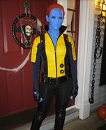 X-Men First Class Mystique Homemade Costume