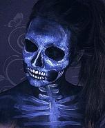 X-ray Skull Makeup