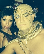 Xerxes from 300 Homemade Costume