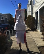 Yao Ming Homemade Costume