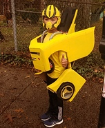 Yellow Bumblebee Homemade Costume
