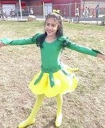 Yellow Rose Homemade Costume