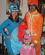 Yo Gabba Gabba Family Costume