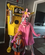 Yo Gabba Gabba Gang Homemade Costume