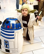 Yoda and R2-D2 Homemade Costume