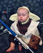 Yoda Baby Homemade Costume