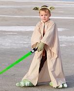 Yoda Boy Homemade Costume