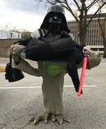 Yoda can handle the Force! Homemade Costume