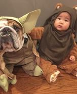 Yoda & Ewok Baby Costume