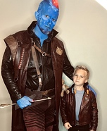 Yondu & young Peter Quill Homemade Costume